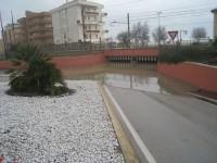 ponte allagato Marzocca di Senigallia - foto 1