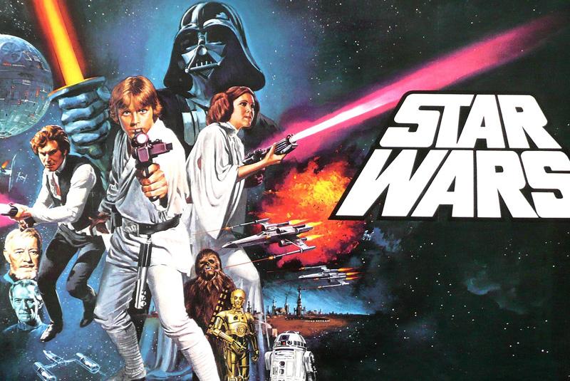 locandina della saga di Star Wars