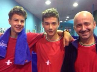 Michele Melucci, Lorenzo Fiorentini, Luciano Massi
