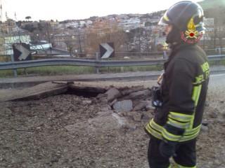 Fuga di gas ad Ancona: intervento dei Vigili del Fuoco