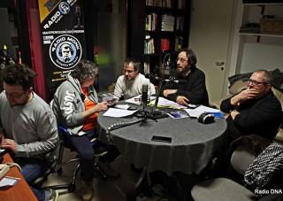 Radio DNA nello studio di Radio Monk