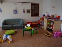 Sala interna alla sede della Cooperativa Undicesimaora
