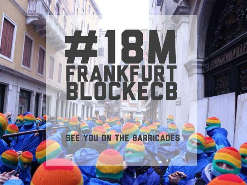 #18M Frankfurt BlockECB