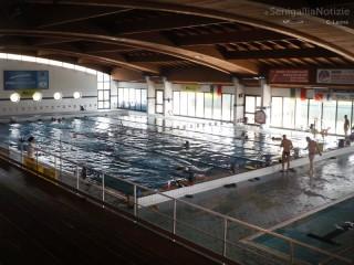 La piscina Saline a Senigallia (interno)