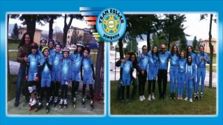 L'intera squadra del Team Roller Senigallia