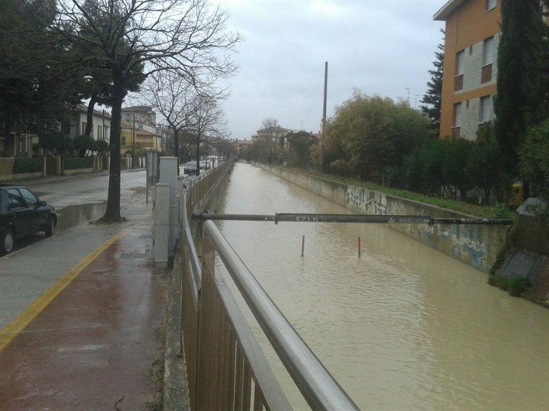 Il fosso Sant'Angelo a Senigallia