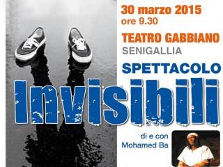 """Lo spettacolo """"Invisibili"""" al Gabbiano di Senigallia"""