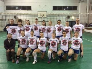 Prima del match contro il San Pietro Pesaro, le ragazze della Punto Più hanno indossato le magliette di Zeroslot, l'iniziativa, nata in ricordo di Mattia Mastrogiacomi, per la lotta contro la ludopatia