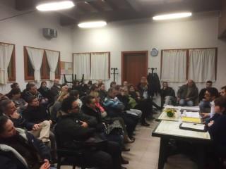 """incontro al quartiere Molinello di Senigallia della lista """"Progetto in Comune"""""""