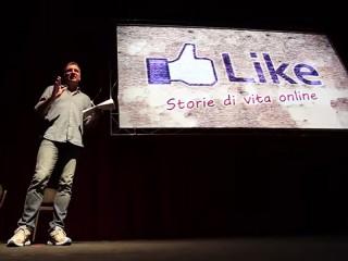 """Luca Pagliari a teatro con lo spettacolo di sensibilizzazione sul cyberbullismo """"Like - storie di vita online"""""""