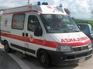 Ambulanza del 118, soccorso
