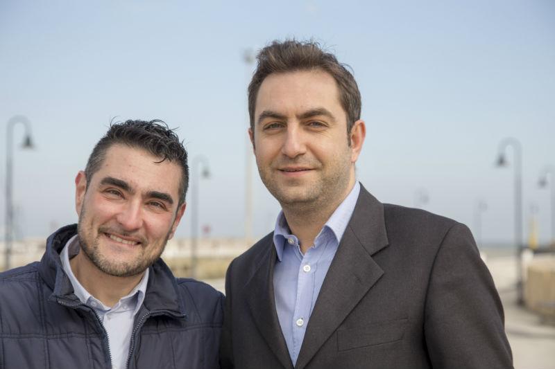 Il candidato sindaco Perini