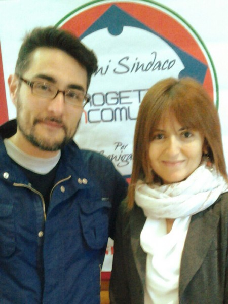 Maurizio Perini e Fabiana Capelli