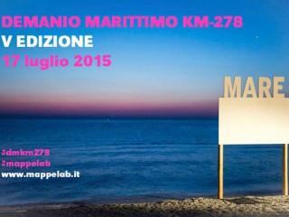 Demanio Marittimo.Km-278 - Edizione 2015