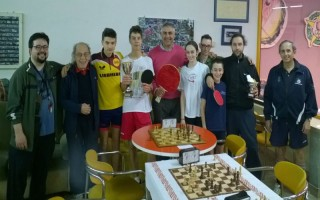 20° torneo scacchi ping-pong