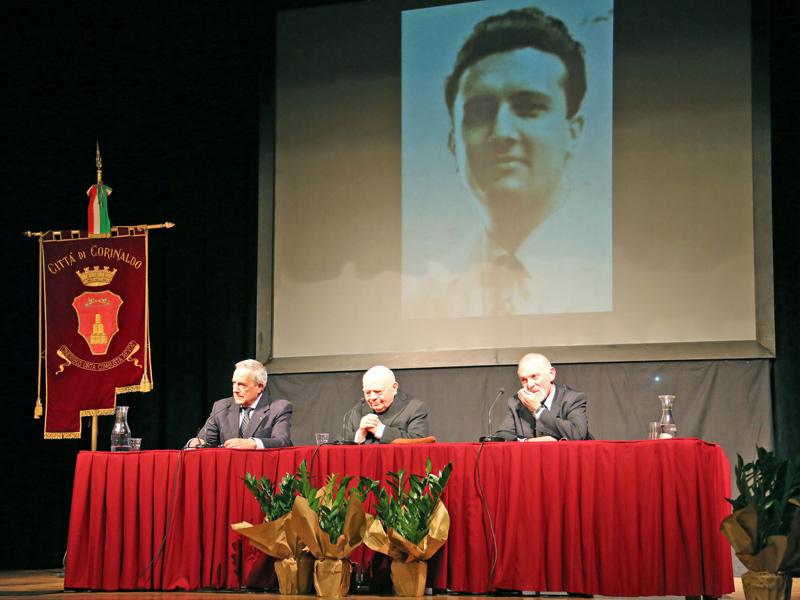 Un momento dell'incontro per il 35° anniversario dell amorte del dr. Pagliariccio