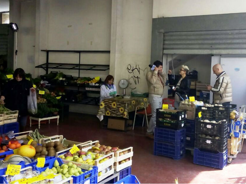 Il mercato di Grottammare
