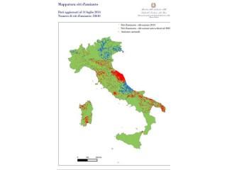 La mappa del ministero dell'Ambiente