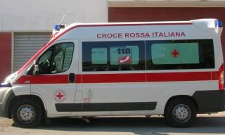 L'ambulanza della Croce Rossa Italiana - sez di Senigallia