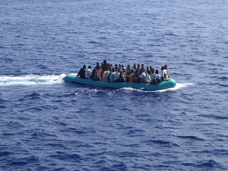 barcone di migranti, immigrati clandestini, strage in mare, viaggio della speranza