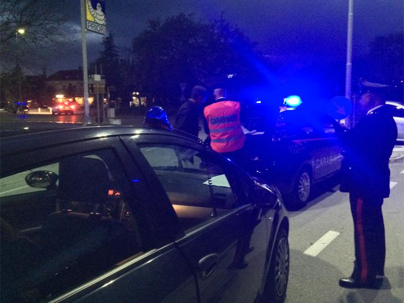 Controlli dei Carabinieri a Senigallia, 112