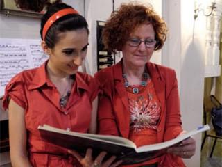 Giovanna Franzoni ed Elena Gentiletti Dago