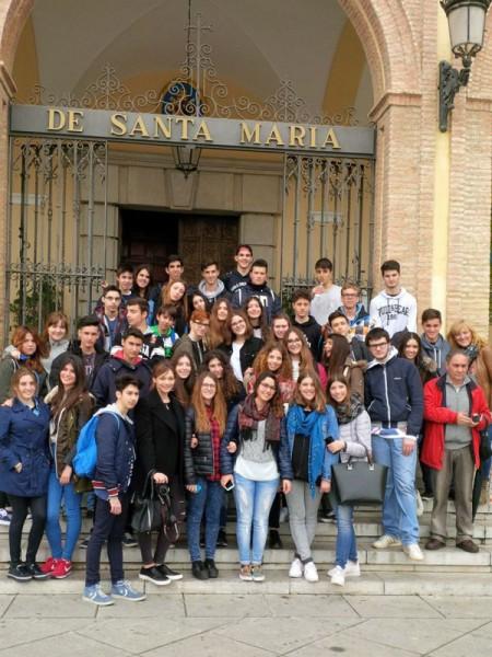 gemellaggio Liceo Medi-IES Madrid