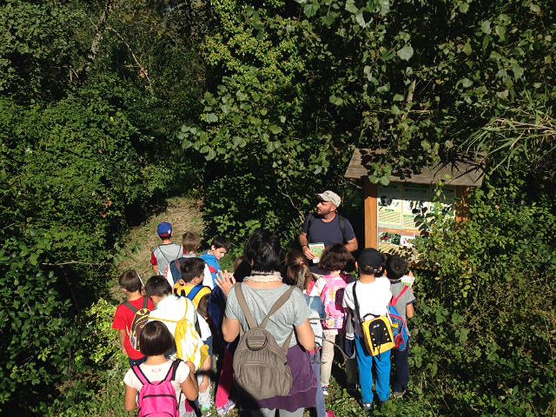 Visita a Montedoro degli studenti della scuola primaria Sant'Angelo di Senigallia