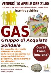 locandina sul Gas a Marzocca di Senigallia