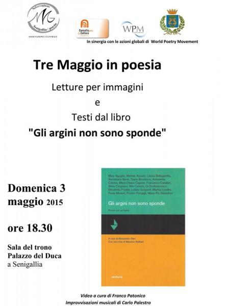 """locandina """"Tre Maggio in poesia"""""""