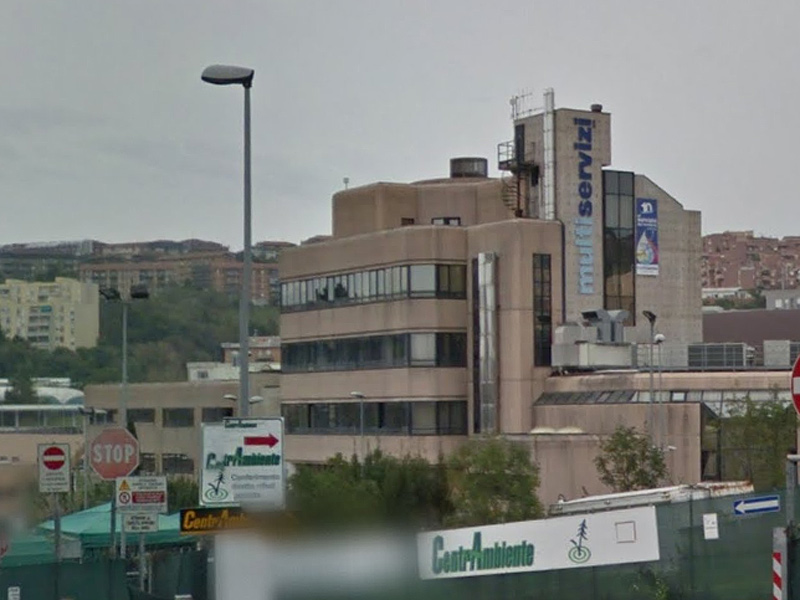 La sede ad Ancona della società Multiservizi S.p.a.
