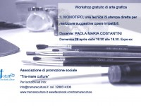 Locandina del workshop di arte grafica