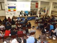 Presentazione all'Istituto Corinaldesi di Senigallia di Fosforo, la festa della scienza 2015