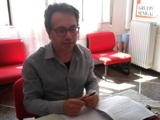 Marco Mazzanti della Cri di Senigallia