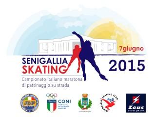 Senigallia Skating 2015 - Campionato italiano maratona di pattinaggio su strada