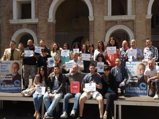 Presentazione delle liste Nuova Senigallia e Scegli Tu per Marcello Liverani Sindaco