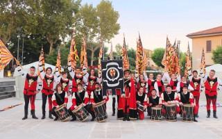 Sbandieratori e musici dell'Araba Fenice di Corinaldo