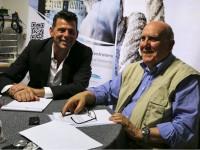 Maurizio Mangialardi e Franco Giannini nella redazione di Senigallia Notizie