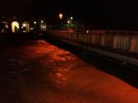 Livello del fiume Misa alle 1 del 23 maggio 2015