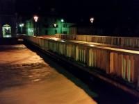 Il fiume Misa alle ore 3 del 23 maggio 2015