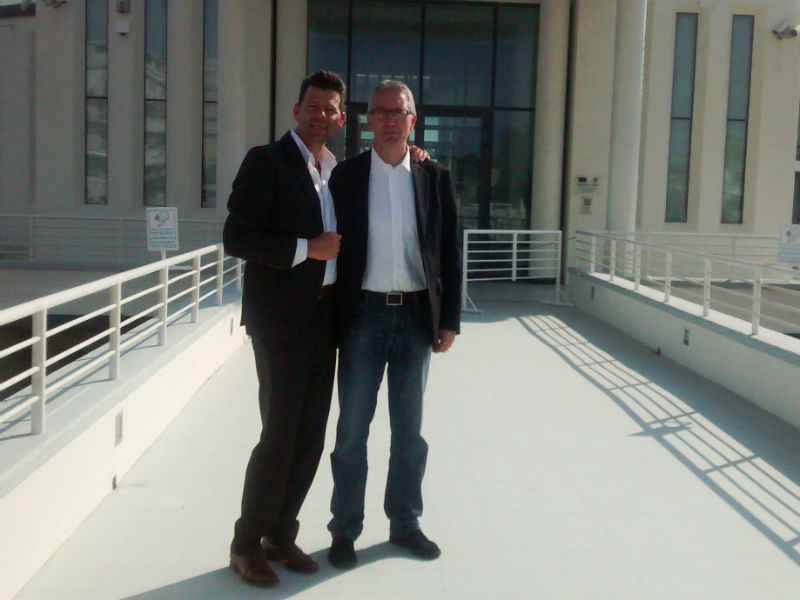 Maurizio Mangialardi e Luca Ceriscioli