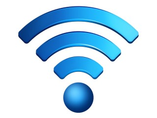 logo del wi fi per l'accesso a internet