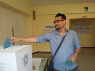 Elezioni 2015: Maurizio Perini alle urne
