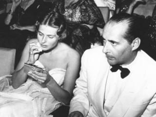 l'attrice Ingrid Bergman e il regista Rossellini