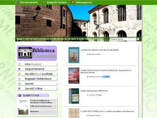 Le pubblicazioni in formato digitale sulla home page del sito web della biblioteca comunale Antonelliana di Senigallia