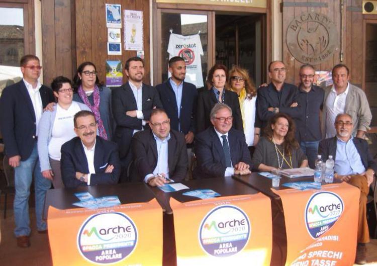 Presentazione della lista Marche 2020 – Area Popolare con Roberto Paradisi sindaco