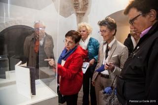 """L'inaugurazione della mostra """"Immagini revocate"""" di Chiara Diamantini allestita alla Rocca Roveresca"""