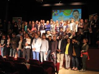 Teatro del Portone gremito per la presentazione del programma di coalizione e dei candidati delle liste che sostengono Maurizio Mangialardi sindaco di Senigallia