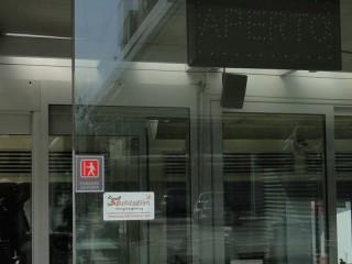 """Un esempio di vetrina """"sguinzagliata"""" a Senigallia"""