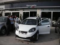 Graziano Rossi alla CRM di Senigallia